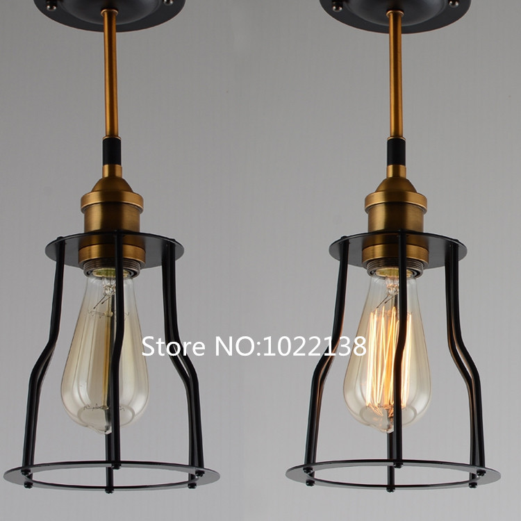 Metal Lamp Cage Copper Holder Cages Vintage Pendant Light Bulb Antique In Lights From Lighting On Aliexpress