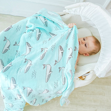 Brand New Muslin Baby Blanket Cotton Bamboo Fiber Swaddle For Newborns Infant Wrap Bath Towel Stroller Cover