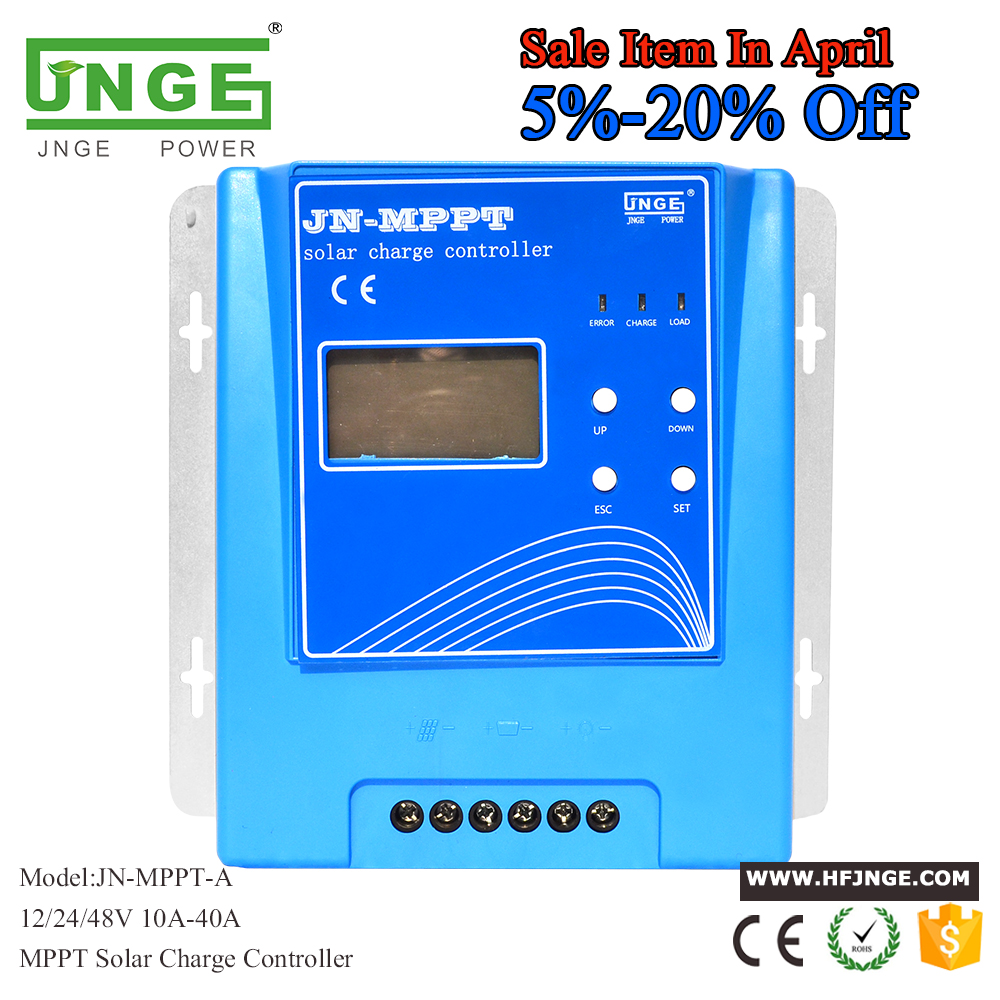 MPPT 20A Solar Controller MPPT Solar Charge Controller 12V 24V 48V Solar Panel Battery Regulator with Max. 150V PV input 20a 12 24v solar regulator with remote meter for duo battery charging