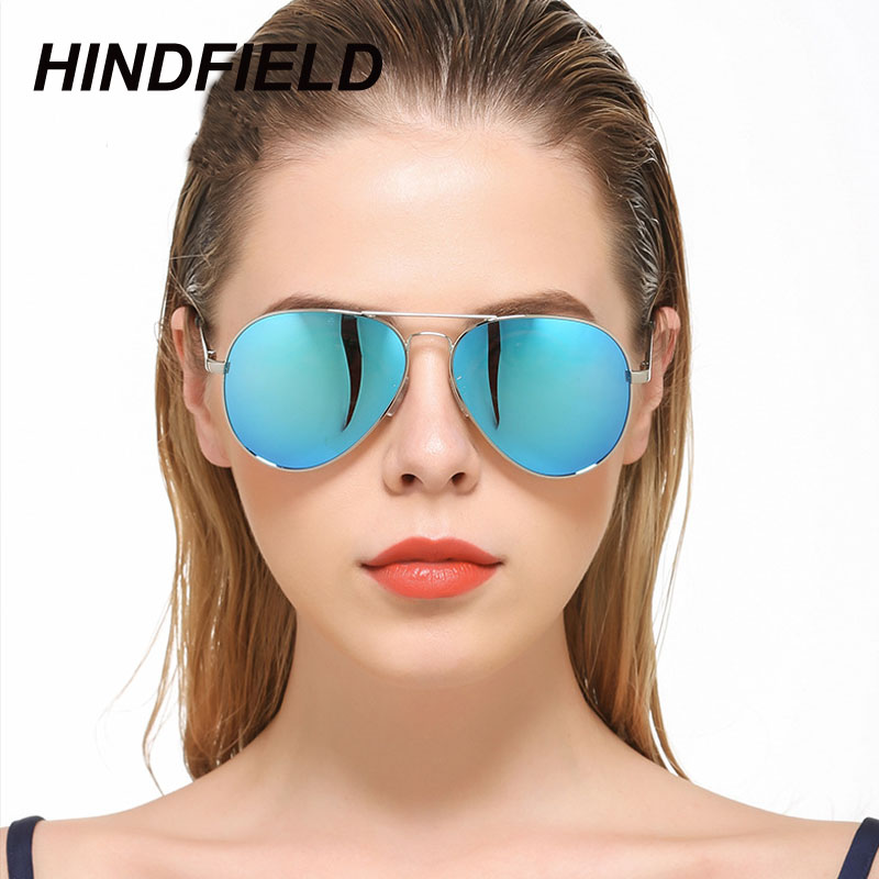 Men Polarized Aviator Sunglasses Women Driving Eyeglasses Black Blue Reflective Coating Mirror Eyewear Pilots Sun Glasses Oculos