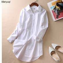 New white girls's nightshirts clothes for dwelling evening giant shirt for ladies cotton massive nightdress