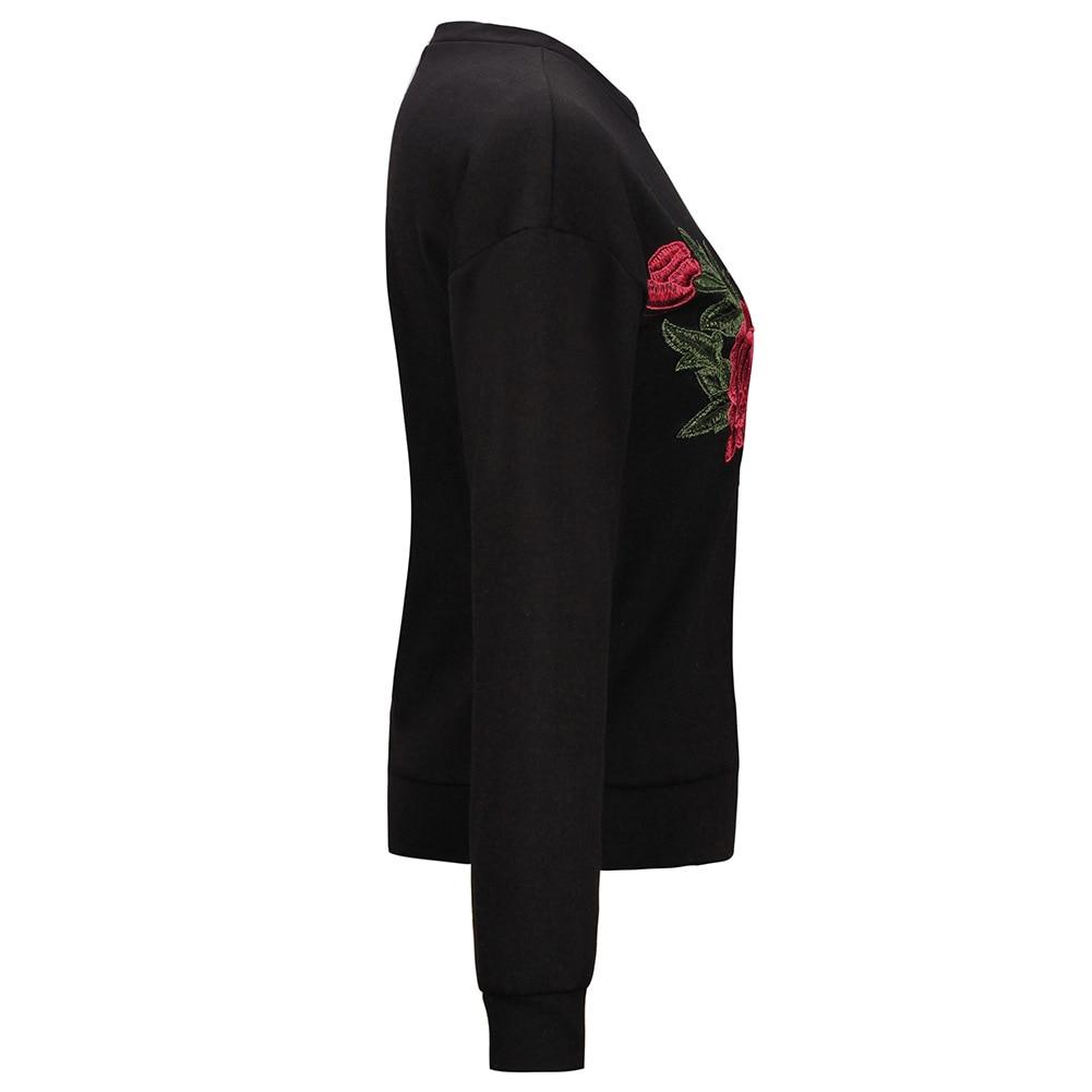 HTB1zsDESFXXXXavXpXXq6xXFXXX9 - Floral Rose Embroidery Hoodie PTC 136