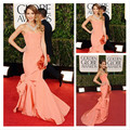 Vestido De Jessica Alba Dresses Long Sweetheart Mermaid Prom Evening Dress Vestidos Celebrity Party Gown 2017 Hot Sale