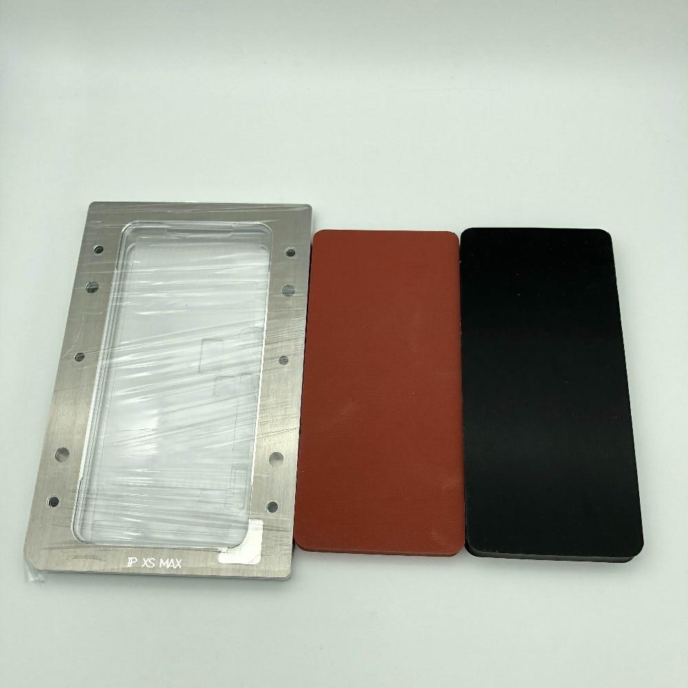 YMJ Nouvelle plastification moule Pour iphone XS MAX LCD écran tactile OCA polarisant film verre positionnement stratification de réparation