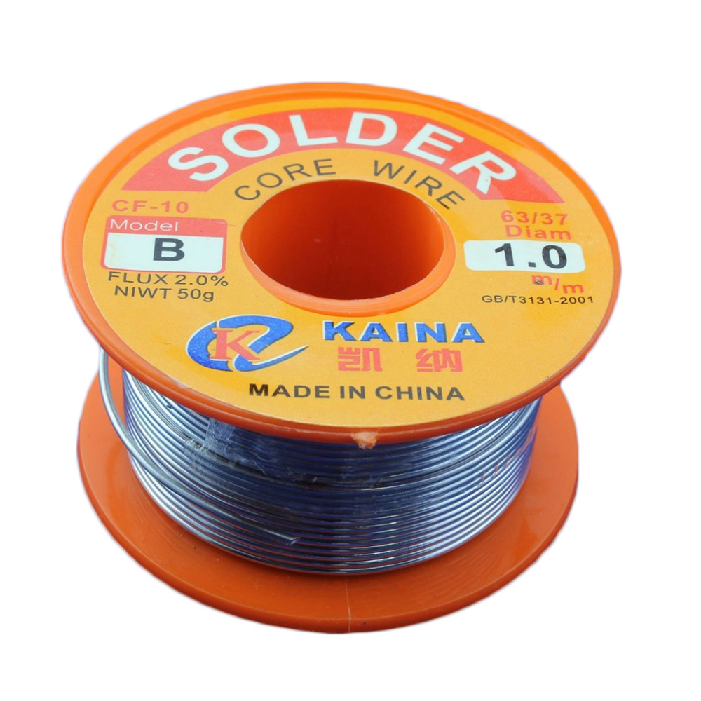 Dropshipping Excellent top quality 45FT Tin Lead Line Rosin Core Flux Solder Soldering Welding Iron Wire Reel Hot Selling цена