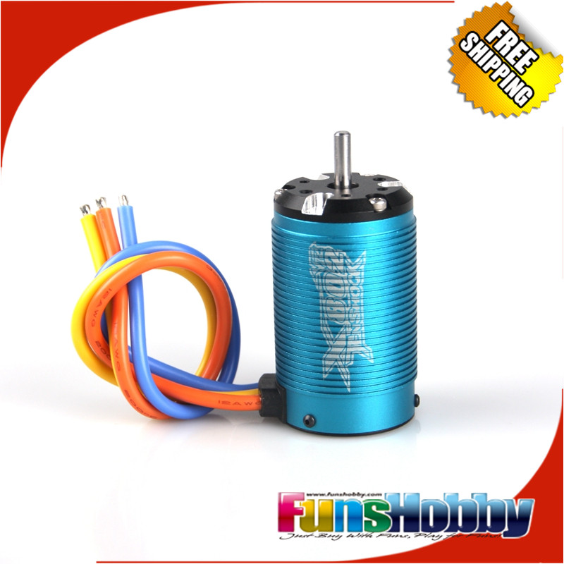Tenshock X802V2 1:8 6 Pole RC Electric Micro Brushless DC Motor For 1/8 RC Buggy Hongnor/Ofna LX2E Axial Cars.(Free Shipping) 1 8 super permium power combo incl tenshock x812l sensor dc motor