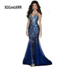 XGGandXRR G615 Mermaid Prom Dress Special Occasion Dresses