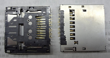 SD Memory Card Slot Assembly Replacement For SONY NEX3 NEX-C3 NEX-5 NEX-6 NEX-7 CX220 CX210 CX250E CX580E A57 T110
