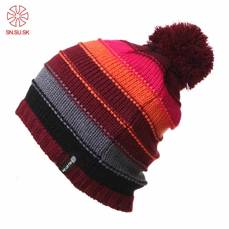 2019 gorros Snowboard invierno patinaje mucho gorras de punto de esquí  sombreros gorros y sombreros para 523e29997ca