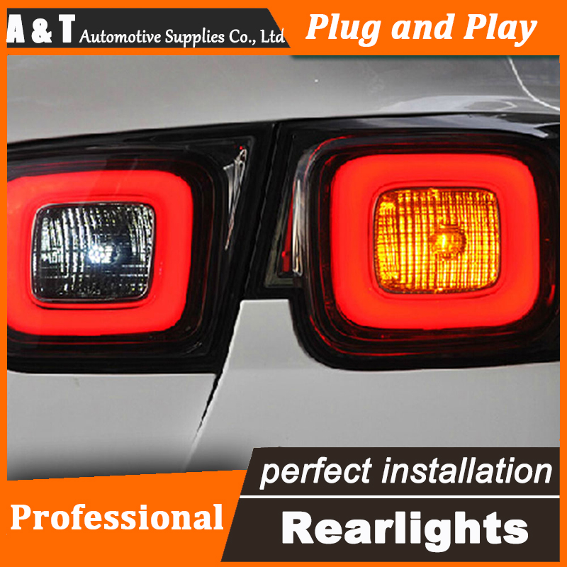 Car Styling LED Tail Lamp for Chevrolet Malibu Taillight assembly Korea Style Rear Light DRL+Turn Signal+Brake with hid kit 2pcs car styling for mazda cx 5 taillight assembly 2011 2015 cx5 led tail light new cx 5 led rear lamp drl brake with hid kit 2pcs