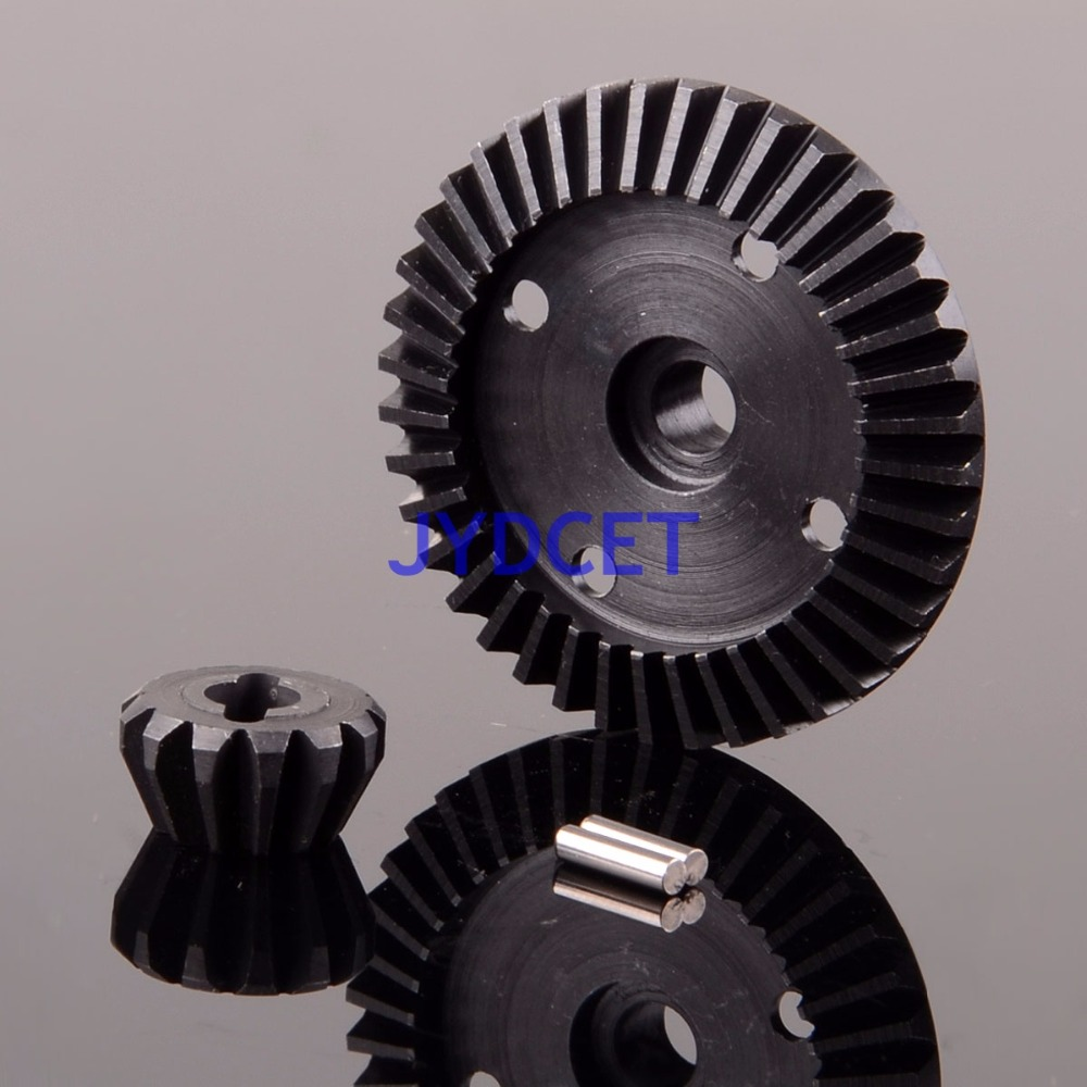 WR81201 Hard Steel Differential Gear For HPI BULLET WR8 SAVAGE XS FLUX 101215 101216 hr hpi savage 4 6 5 9xl flux aluminum alondra widened 17mm clutch