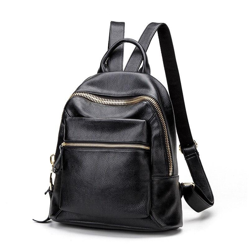 b6c08976d9 AIDOUDOU BRAND χρυσό τσάντα φερμουάρ πίσω τσάντα γυναικεία σχολική ...