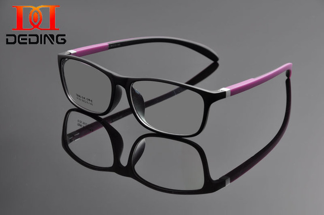 Deding марка дизайнер очки рамки ретро оптических кадр очки мужчины / женщины очки кадр с тканью и очки чехол DD1157