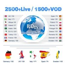 IPTV Italia Spanish Swedish IUDTV Subscription Code Europe IP TV Greece Portugal Germany UK Spain Italy M3U/MAG/Enigma2/Android