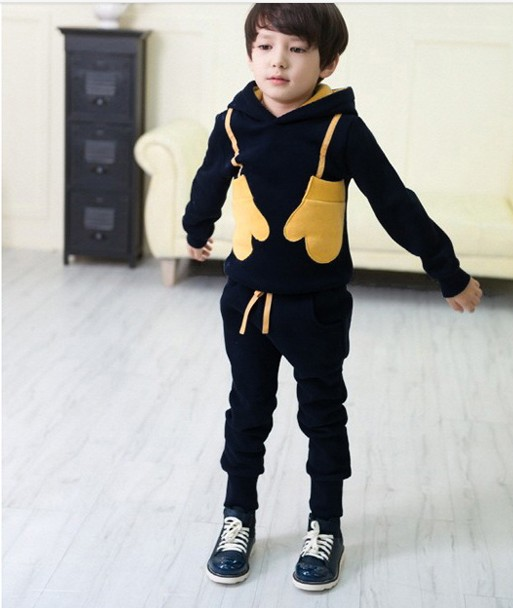 New arrival children clothing set spring/autumn 100% cotton boy sport casual long-sleeve sweater+pants suit free shipping new arrival spring autumn children clothing set 100% cotton boy leisure navy style long sleeve t shirt pants suit free shipping