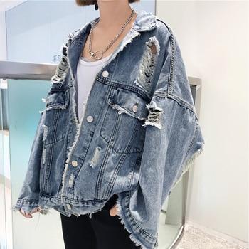 Cheap wholesale 2018 new summer Hot selling women's fashion casual Denim Jacket L327