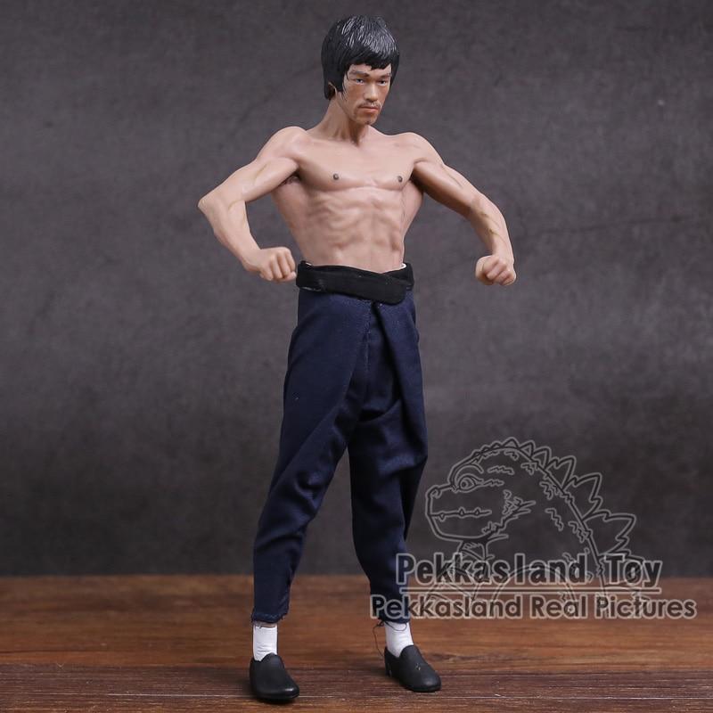 Bruce Lee in Wushu uniform Action Figure   7.5 inch