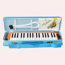 Keyboard Melodica 36 Key Melodica Instrument 36 Piano Style Key Yellow Musical Instruments Harmonica Melodica Gift For Children