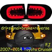 One set Car Styling for Toyota Fj CRUISER Taillights 2007 2014 for Fj CRUISER LED Tail Lamp+Turn Signal+Brake+Reverse LED light