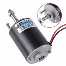 1pc dc 12/24v 3000rpm/6000rpm電気永久磁石30ワットcw/ccw制御71 × 51ミリメートルdiy発生器