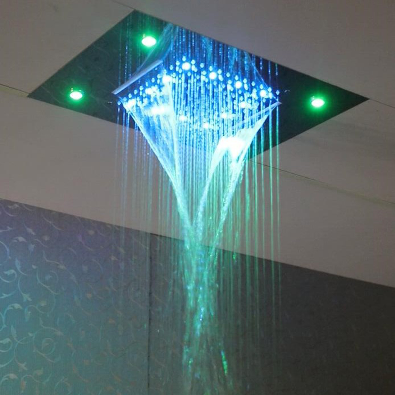 Dual Rain And Waterfall 2 Functions Shower Head 20 Inches Water ...