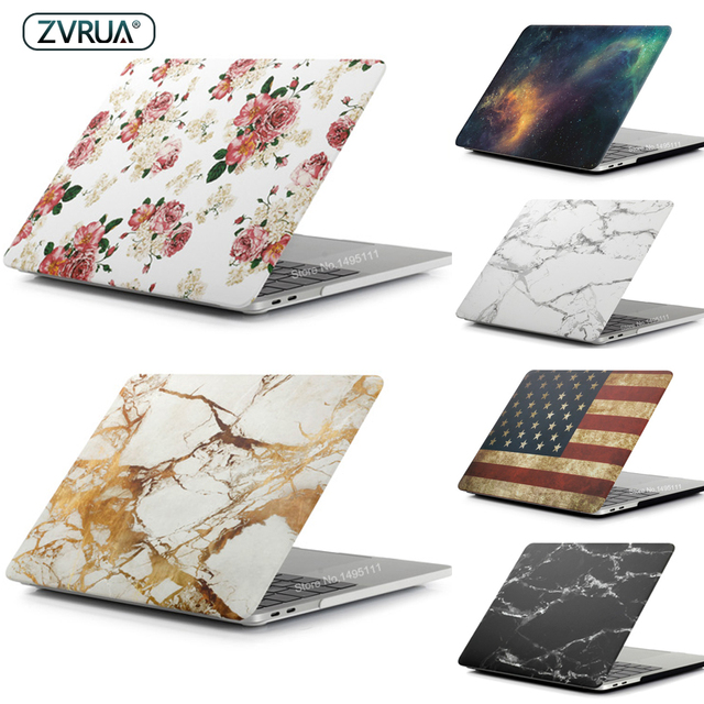 Beautiful Laptop Case For MacBook Air Pro Retina 11 13 15 with touch bar, high quality 2018 New Air 13 inch A1932 shell