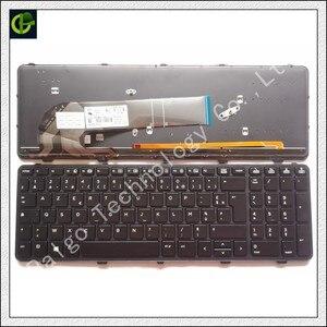 Французская Azerty клавиатура с подсветкой для HP probook 450 455 470 G0 G1 G2 450G1 455G1 470G1 450G2 455G2 470G2 768787-051 PK1315A2A1 FR