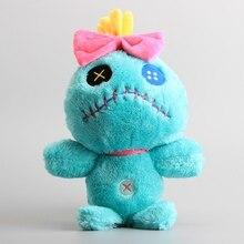 купить 30 CM Lilo and Stitch Plush Toy Green Scrump Soft Stuffed Cute Cartoon Doll Birthday Christmas Party Gift for Children по цене 505.42 рублей