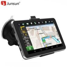 Junsun Car GPS Navigation Android 7 inch 16GB Bluetooth Quad-core Navigator russia Navitel Europe map truck gps sat nav