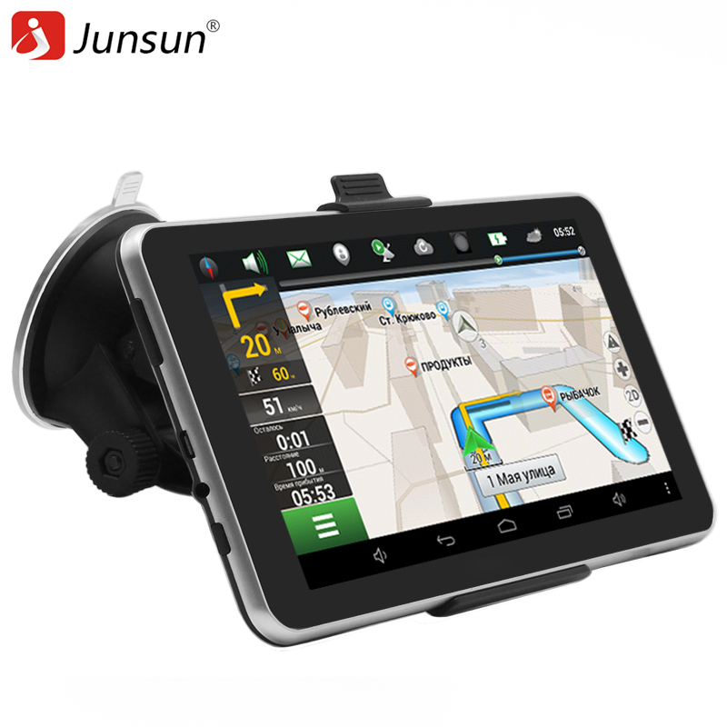 buy junsun car gps navigation android 7 inch 16gb bluetooth quad core navigator. Black Bedroom Furniture Sets. Home Design Ideas