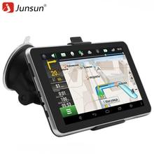 Junsun Auto GPS Navigation Android 7 zoll 16 GB Bluetooth Quad-core Navigator russland Navitel Europa karte lkw gps sat nav
