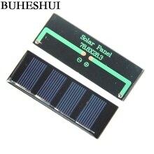 BUHESHUI Solar Panel 2v 0 2W Mini Solar Cell For Small Power Appliances Solar Toy Panel