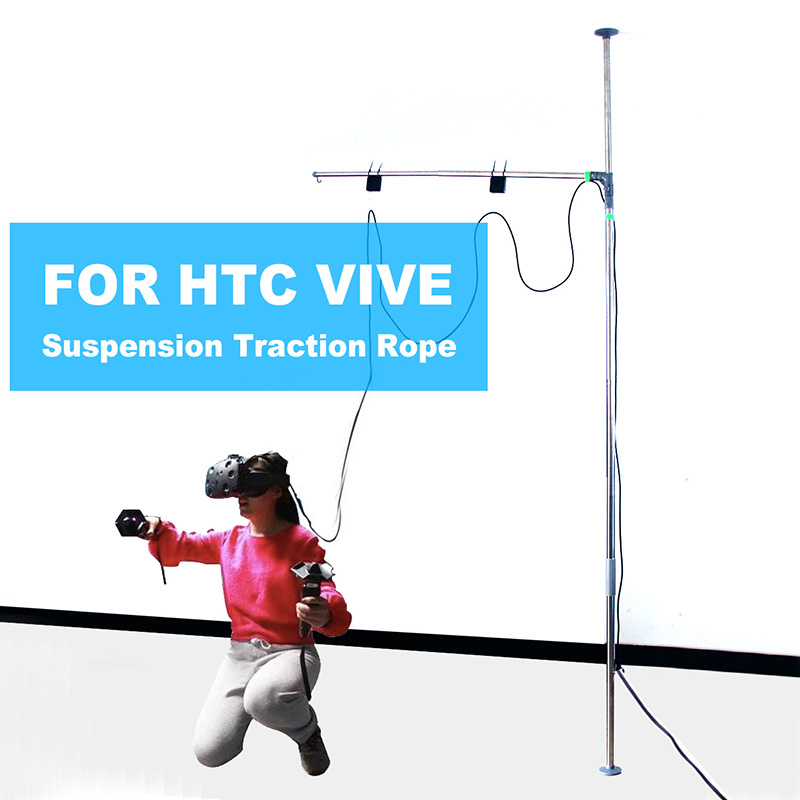 FOR HTC VIVE/Pro Headset For Hp Microsoft MR Windows VR Universal Suspension Traction Rope Hanger Free-flying Space Rack Station