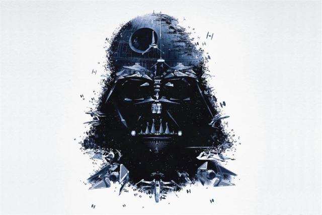 Star Wars Darth Vader Custom Canvas, Wall Decal or Photo Print