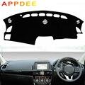 APPDEE Car Styling Coperture Dash Zerbino Dash Zerbino Tenda Da Sole Cruscotto Copertura Capter Personalizzato Per Mazda CX-5 CX5 KE 2012 -2016