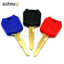 Keys Embryo For Kawasaki ZX6R ZX9R ZX10R ZXR250 ZXR400 ZZR400 ZRX400 ZZR600 ZZR1200 Motorcycle Blank Key Uncut Blade With цена в Москве и Питере