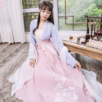 Hanfu National Costume Ancient Chinese Fairy Cosplay Costumes Hanfu Clothes Lady Traditional Chinese Clothing For Women DN2109