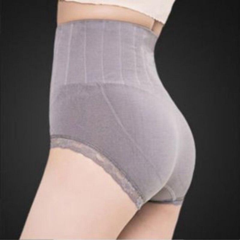 351dbac9ccc28 1Pcs High Waist Lace Body Shaper Briefs Panties Women's Sexy Underwear  Slimming Pants Tummy Control Underpants