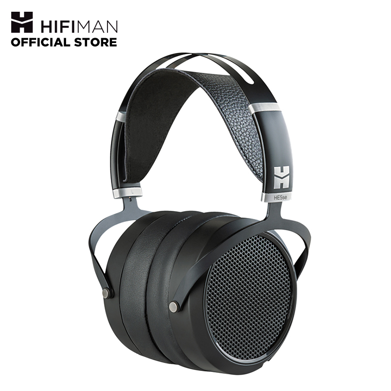 HIFIMAN HE5se Full-Size Over Ear Planar Magnetic Audiophile Adjustable Headphone Comfortable Earpads Open-Back Design Easy Cable