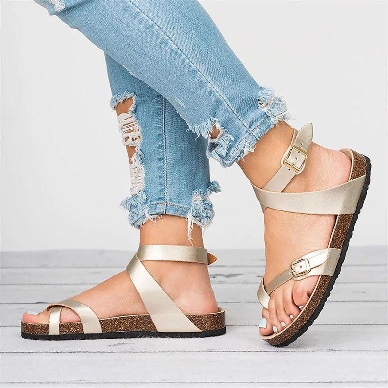 1c509dbb Compre Sandalias Directas De Fábrica Para Mujer Zapatos De Verano ...