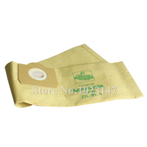 Image 1 - 5 יח\חבילה שואב אבק נייר שקיות מסנן אבק שקיות Replacment עבור בוש PAS11 PAS 11 21 Amphibixx BBS21AF BMS1000 BMZ21A