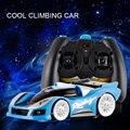 Управления по радио Zero Gravity Мини Настенный Этаж Восхождение Альпинист RC автомобилей Racer Дистанционного Управления Гоночный Автомобиль Потолок Кроссовки Kid Toy подарок