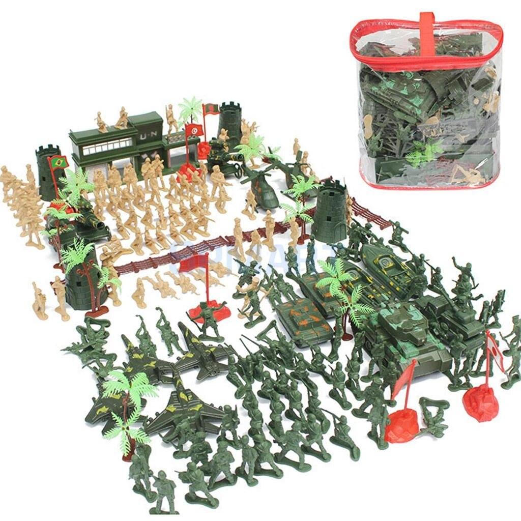 520pcs Military Army Action Figuren Set 5cm Soldaten /& Assorted Zubehör