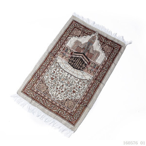 Image 4 - Портативный коврик для молитвы, мусульманский коврик для молитвы с сумкой, Sajadah, одеяло для молитвы, Дорожный Коврик для молитвы Salat Musallah