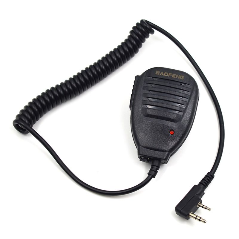 Original Radio Speaker Mic Microphone PTT For Portable Two Way Radio Walkie Talkie UV-5R UV-5RE UV-5RA Plus UV-6R