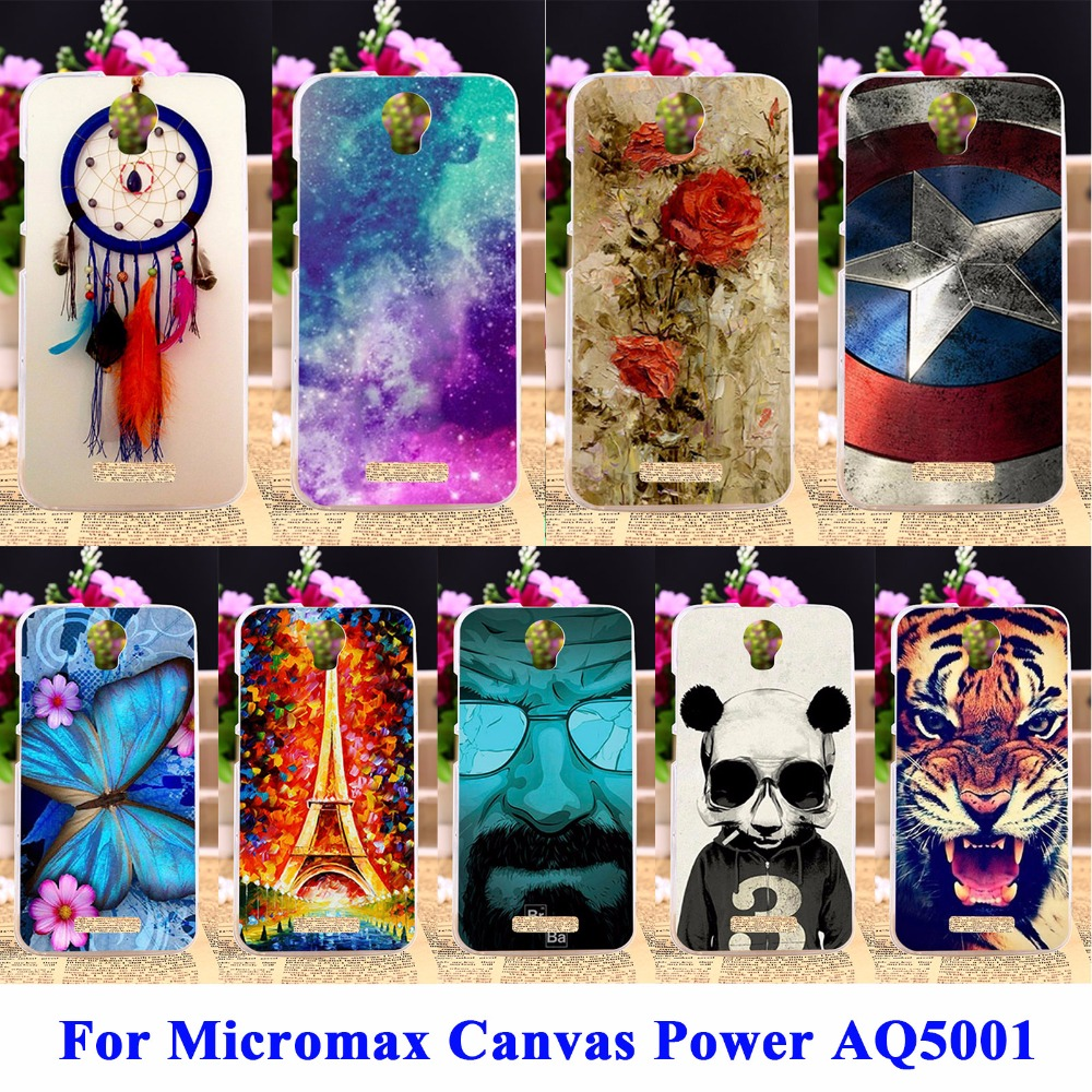 DIY Flexible Soft TPU Silicon Cell Phone Cases For Micromax Canvas Power AQ5001 Covers Juice 2 AQ5001 Housing Bags Skin Shell