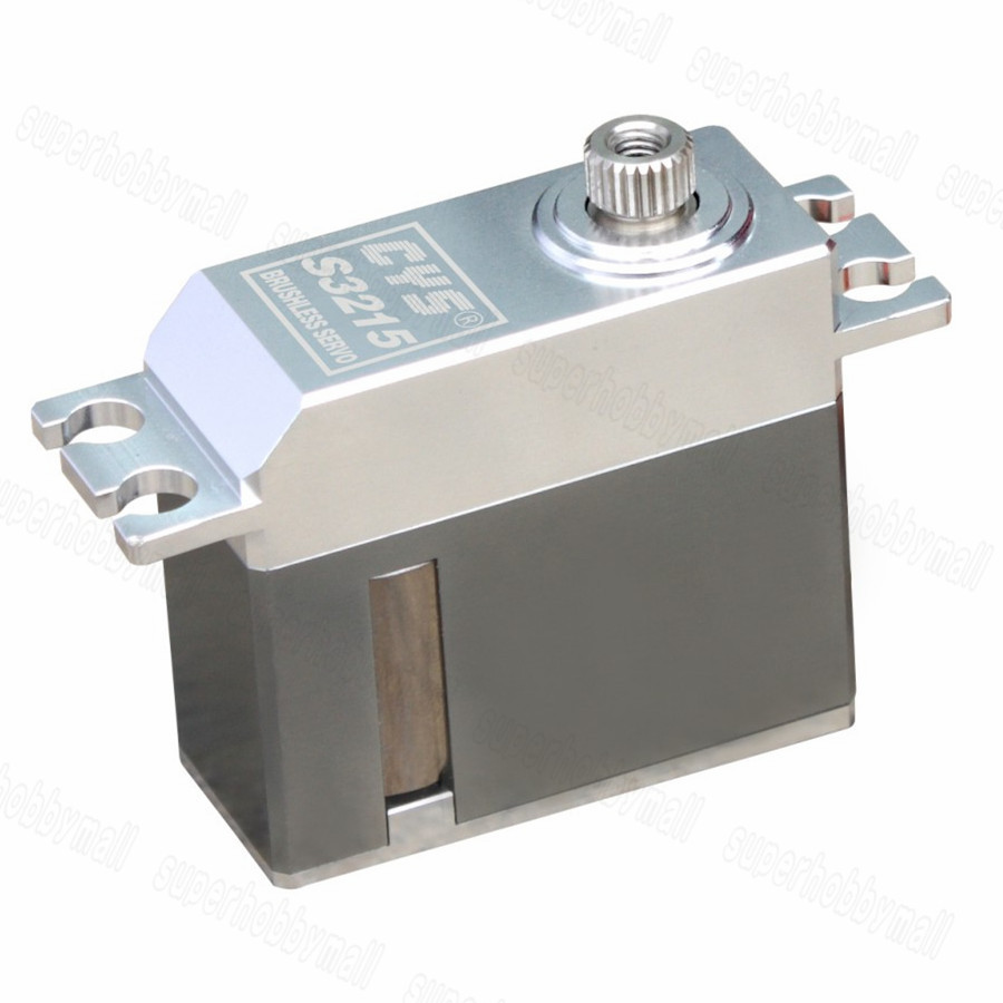 CYS-S3215 6.0-7.4V Metal Digital Coreless Gear Servo 10KG Torque For RC Models 35kg high torque coreless motor servo rds3135 180 deg metal gear digital servo arduino servo for robotic diy rc car