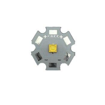 10pcs Cree XTE XT-E 1W - 5W Led  Nature White 4000-4500K LED Light With 8/10/12/14/16/20MM Aluminum PCB For DIY  Flashlight Lamp tangspower 1200lm cree xml u2 6 leds 3 modes white light aluminum led flashlight