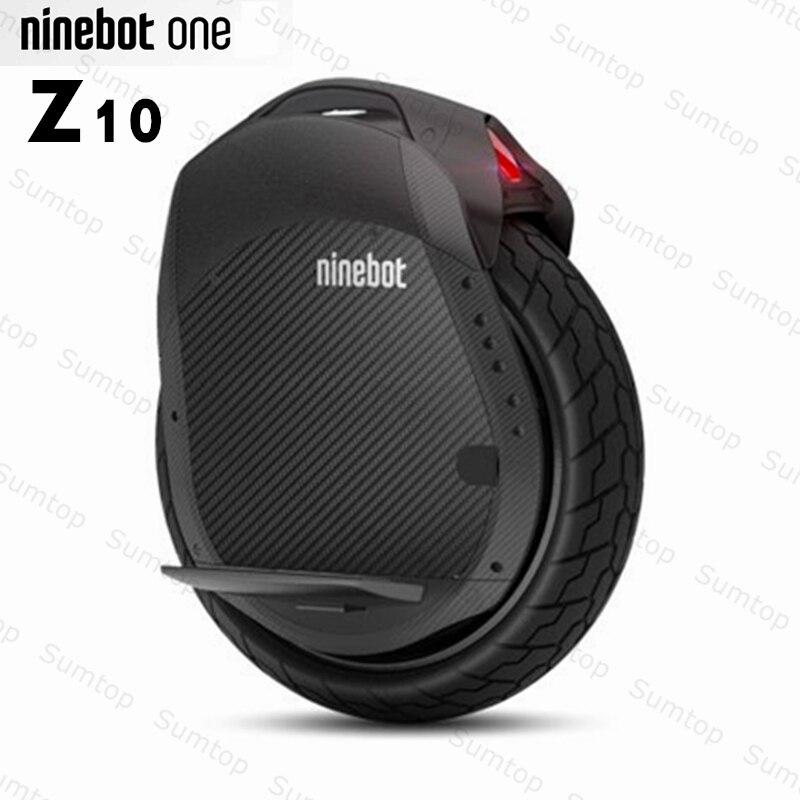 Original Ninebot One Z10 EUC auto équilibrage Scooter électrique monocycle 1800W moteur vitesse 45 km/h intégré poignée Hoverboard Z6 Z8