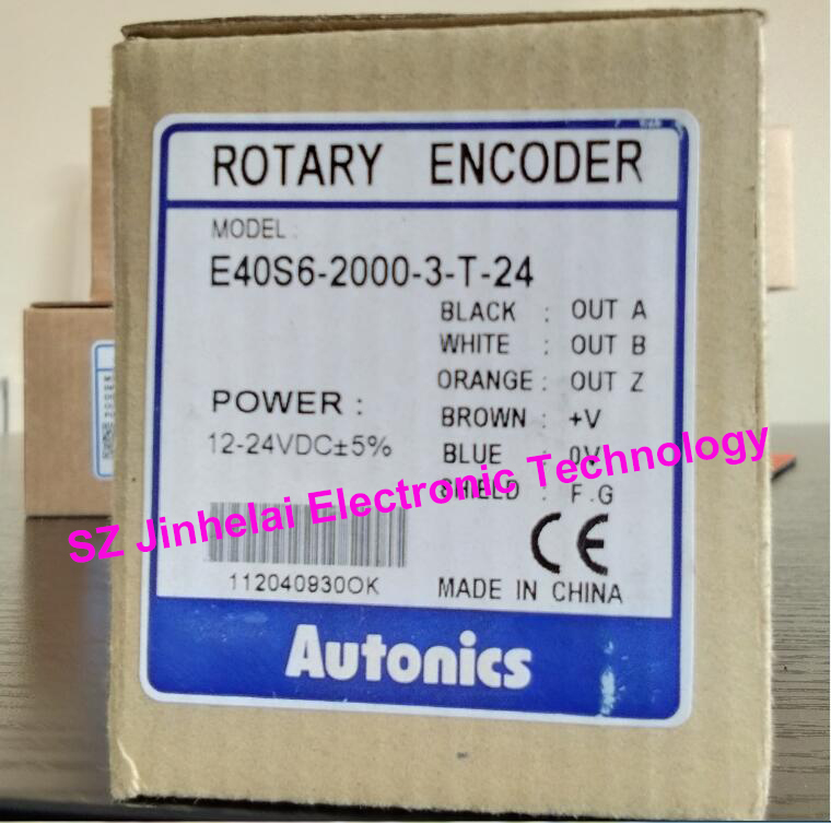 E40S6-2000-3-T-24 New and original AUTONICS Incremental rotary encoder 12-24VDC цены